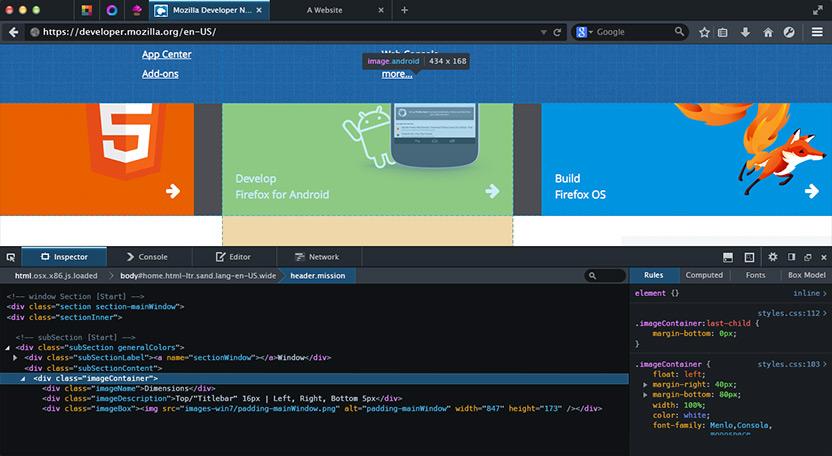 screenshot-firefox-developers-edition